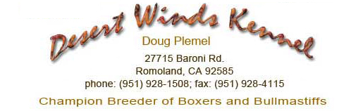 Desert Winds Kennel Logo />